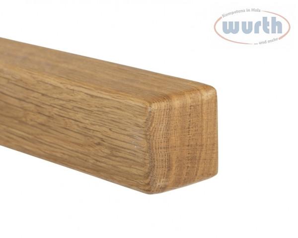 Holzhandlauf Eiche - quadratisch, 45 x 45 mm