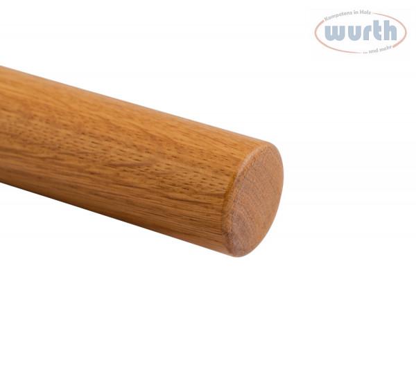 Holzhandlauf Eiche - rund, Durchmesser 42 mm