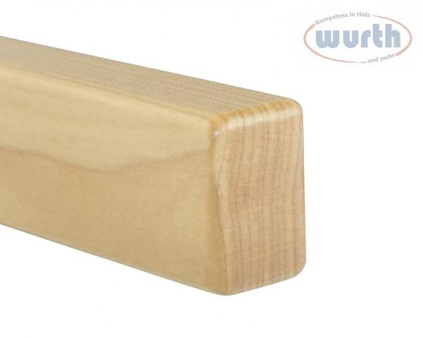 Holzhandlauf Ahorn - rechteckig, 40 x 60 mm