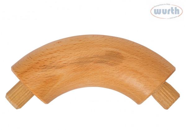 Verbindungsbogen 90° - Buche gedämpft - diverse Durchmesser, für Holzhandlauf rund
